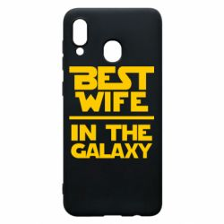 Чохол для Samsung A20 Best wife in the Galaxy
