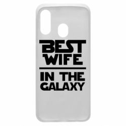 Чохол для Samsung A40 Best wife in the Galaxy