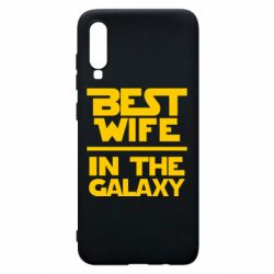 Чохол для Samsung A70 Best wife in the Galaxy