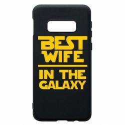 Чехол для Samsung S10e Best wife in the Galaxy