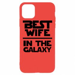 Чехол для iPhone 11 Pro Max Best wife in the Galaxy
