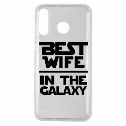 Чехол для Samsung M30 Best wife in the Galaxy