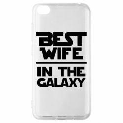Чехол для Xiaomi Redmi Go Best wife in the Galaxy