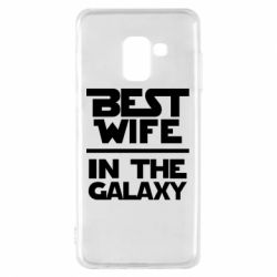 Чохол для Samsung A8 2018 Best wife in the Galaxy