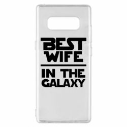 Чехол для Samsung Note 8 Best wife in the Galaxy
