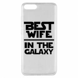 Чехол для Xiaomi Mi Note 3 Best wife in the Galaxy