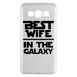 Чехол для Samsung A3 2015 Best wife in the Galaxy