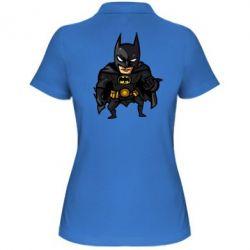 Женская футболка поло Бэтмен Арт