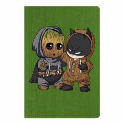 Блокнот А5 Бэтмен и грут