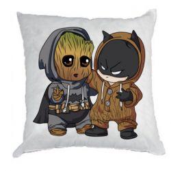 Подушка Бэтмен и грут