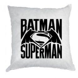 Подушка Бэтмен vs. Супермен