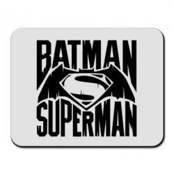 Коврик для мыши Бэтмен vs. Супермен