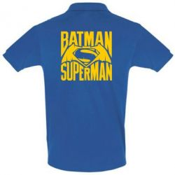 Футболка Поло Бэтмен vs. Супермен