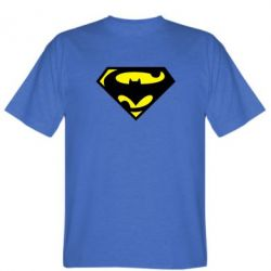 Мужская футболка БэтСупермен - FatLine