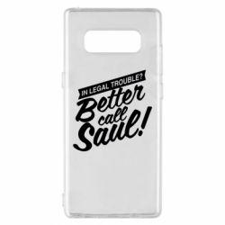 Чохол для Samsung Note 8 Better call Saul!