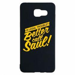 Чохол для Samsung A5 2016 Better call Saul!