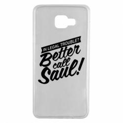Чохол для Samsung A7 2016 Better call Saul!