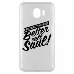 Чохол для Samsung J4 Better call Saul!