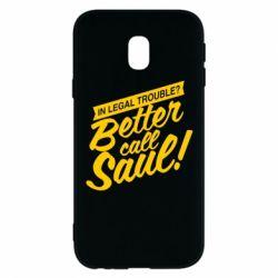 Чохол для Samsung J3 2017 Better call Saul!