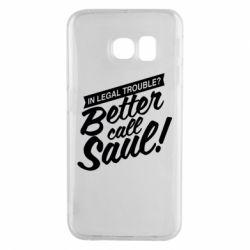 Чохол для Samsung S6 EDGE Better call Saul!