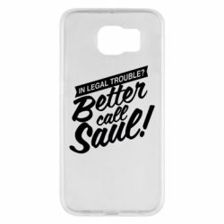 Чохол для Samsung S6 Better call Saul!