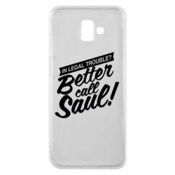 Чохол для Samsung J6 Plus 2018 Better call Saul!