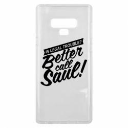 Чохол для Samsung Note 9 Better call Saul!
