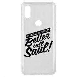 Чохол для Xiaomi Mi Mix 3 Better call Saul!