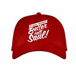 Детская кепка Better call Saul! - FatLine