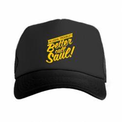 Кепка-тракер Better call Saul! - FatLine