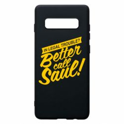 Чохол для Samsung S10+ Better call Saul!