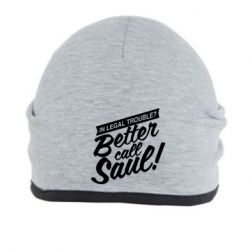 Шапка Better call Saul! - FatLine