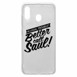 Чохол для Samsung A20 Better call Saul!