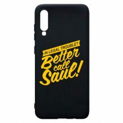 Чохол для Samsung A70 Better call Saul!