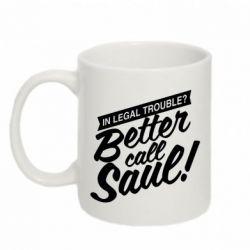 Кружка 320ml Better call Saul! - FatLine