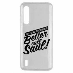 Чохол для Xiaomi Mi9 Lite Better call Saul!
