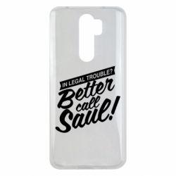 Чохол для Xiaomi Redmi Note 8 Pro Better call Saul!
