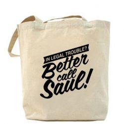 Сумка Better call Saul! - FatLine