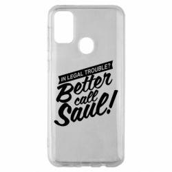 Чохол для Samsung M30s Better call Saul!