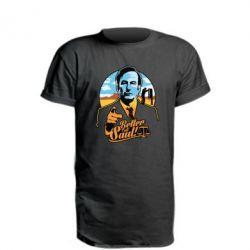 Купить Удлиненная футболка Better Call Saul!, FatLine