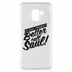 Чохол для Samsung A8 2018 Better call Saul!