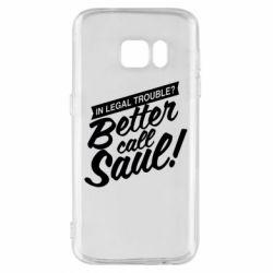 Чохол для Samsung S7 Better call Saul!