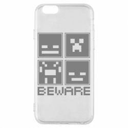 Чохол для iPhone 6/6S Beware Minecraft