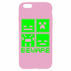 Чохол для iPhone 6 Plus/6S Plus Beware Minecraft