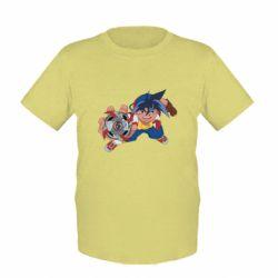 Дитяча футболка Бейблейд