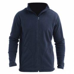 Мужская флисовая куртка Без рисунка - FatLine