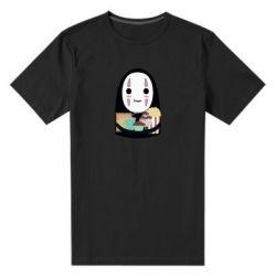 Чоловіча стрейчева футболка Безликий з вкусняшками