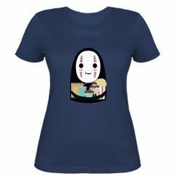 Жіноча футболка Безликий з вкусняшками