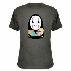 Камуфляжна футболка Безликий з вкусняшками