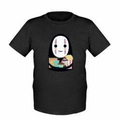 Дитяча футболка Безликий з вкусняшками